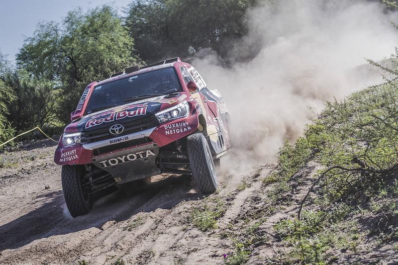 #301 Toyota Gazoo Racing Toyota: Nasser Al-Attiyah, Mathieu Baumel