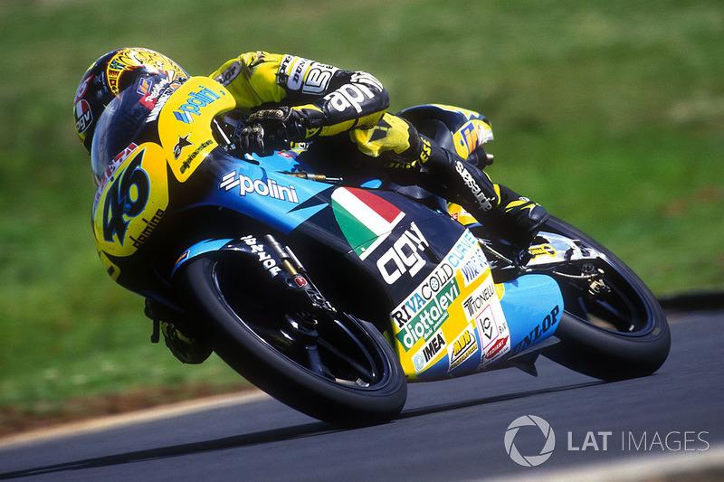 1996 (125cc) - 9º no mundial (1 vitória), 111 pontos