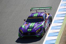 #111 Rn-sports Mercedes SLS AMG GT3: Keishi Ishikawa, Ryosei Yamashita