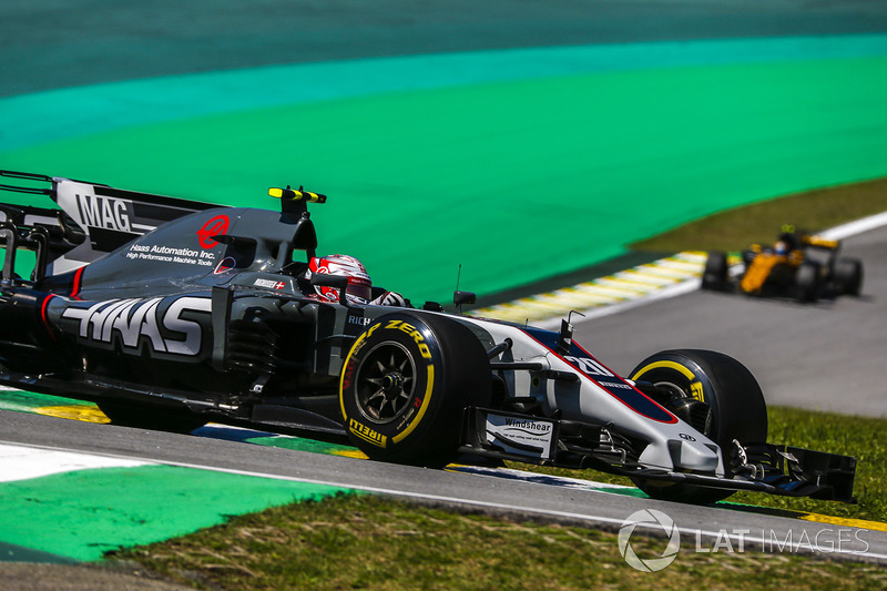 Abandon : Kevin Magnussen (Haas F1 Team)