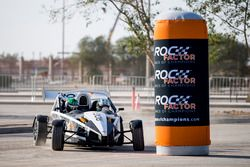 Terry Grant driving the Ariel Atom Cup with Ahmed Bin Khanen before ROC Factor Saudi Arabia