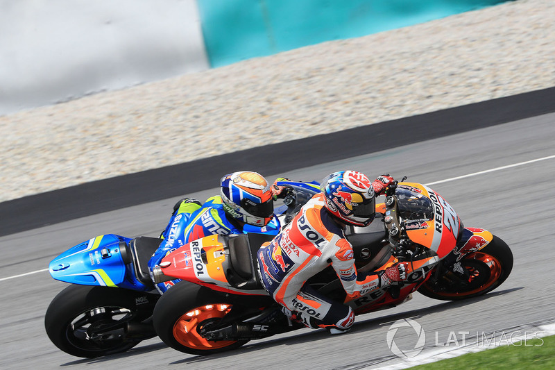 Дані Педроса, Repsol Honda Team, Алекс Рінс, Team Suzuki MotoGP