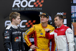 Josef Newgarden, Ryan Hunter-Reay, Tom Kristensen