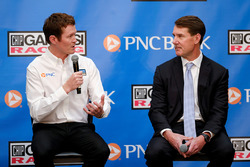 Scott Dixon, Chip Ganassi Racing, Bill Demchak, PNC CEO, Connie Bond Stuart, PNC
