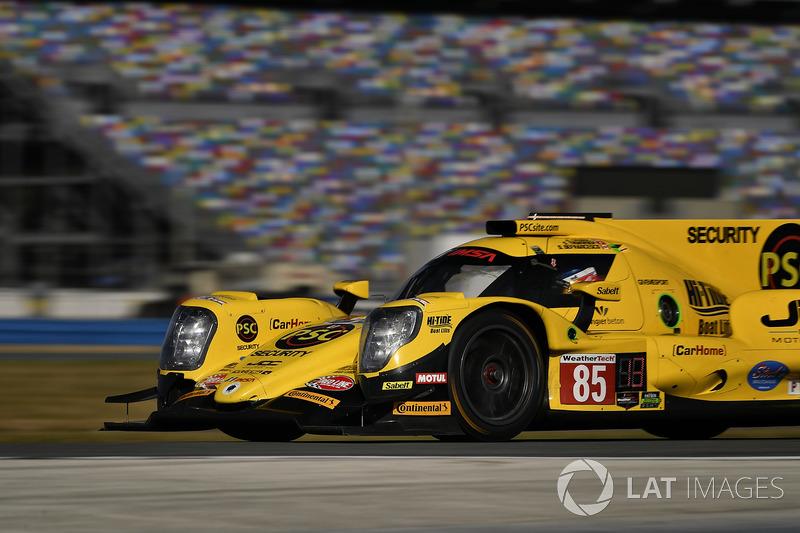 #85 JDC/Miller Motorsports ORECA 07, P: Simon Trummer, Robert Alon, Austin Cindric, Devlin DeFrancesco