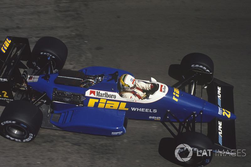 Андреа де Чезарис, Rial ARC1 Ford (3 очка)