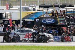 Chase Briscoe, Roush Fenway Racing, Ford Ford Mustang pit stop