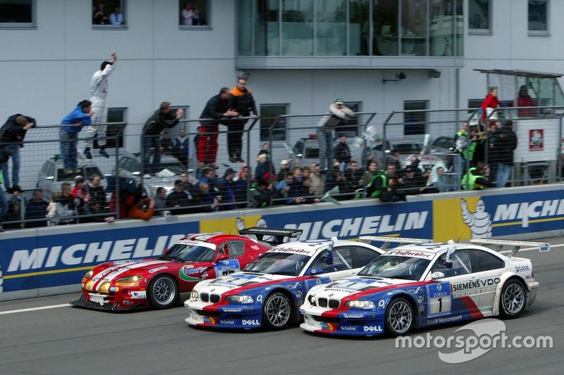 2005: Boris Said, Duncan Huisman, Andy Priaulx, Pedro Lamy (BMW M3 GTR)