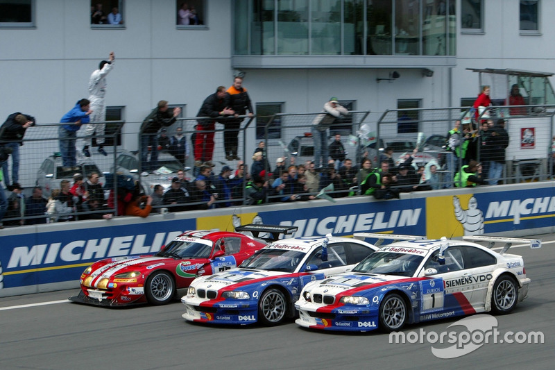 2005: Lamy/Said/Huisman/Priaulx - BMW M3 GTR (Bildmitte)
