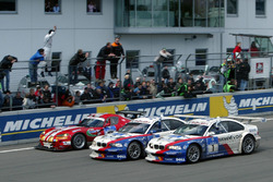 #2 BMW Team Schnitzer BMW M3 GTR: Boris Said, Duncan Huisman, Andy Priaulx, Pedro Lamy