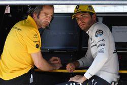 Paul Monaghan, Renault Sport F1 Team en Carlos Sainz Jr., Renault Sport F1 Team