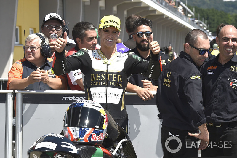 Second place Marcos Ramirez, Bester Capital Dubai