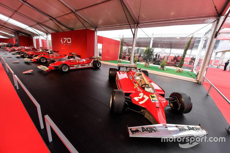 F1 Ferrari cars