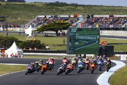 Maverick Viñales, Yamaha Factory Racing, Pol Espargaro, Red Bull KTM Factory Racing, Miller Australi