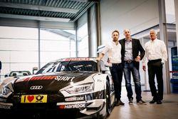 Рене Раст, Audi Sport Team Rosberg, Деннис Ростек и Арно Ценсен