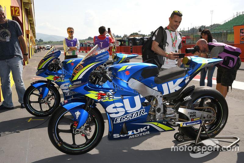 Мотоцикл Team Suzuki MotoGP
