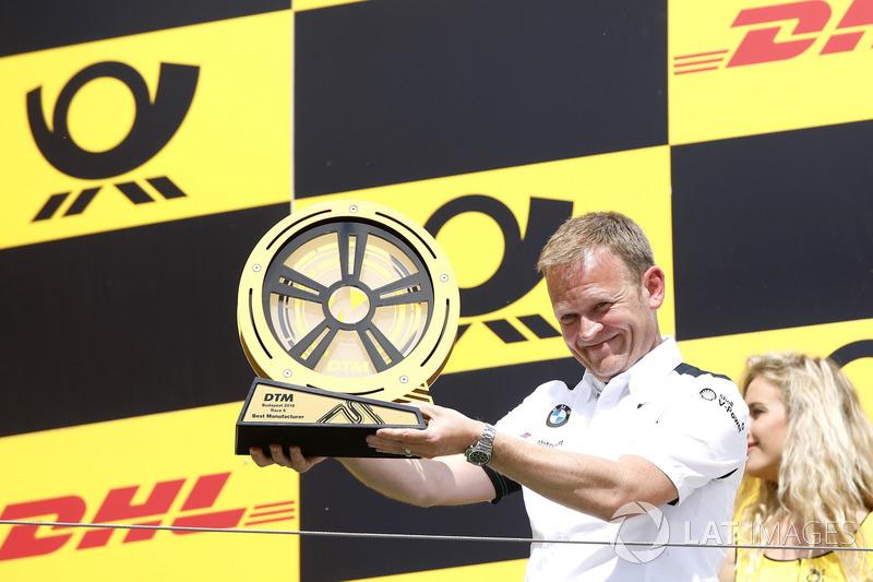 Podium: Stefan Reinhold, Team principal, BMW Team RMG