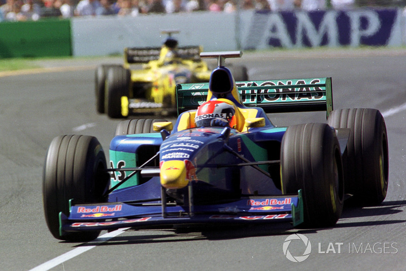 Johnny Herbert, Sauber ve Damon Hill, Jordan