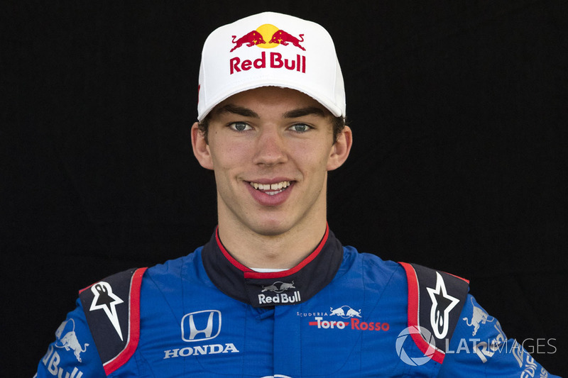 #10: Pierre Gasly, Toro Rosso