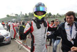 Il vincitore Luigi Ferrara, 42 Racing SA