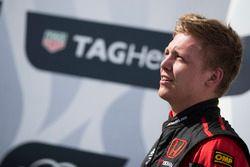 Podium: Racewinnaar Yann Ehrlacher, ALL-INKL.COM Münnich Motorsport Honda Civic Type R TCR