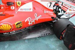 Ferrari SF70H: il fondo nuovo di Raikkonen