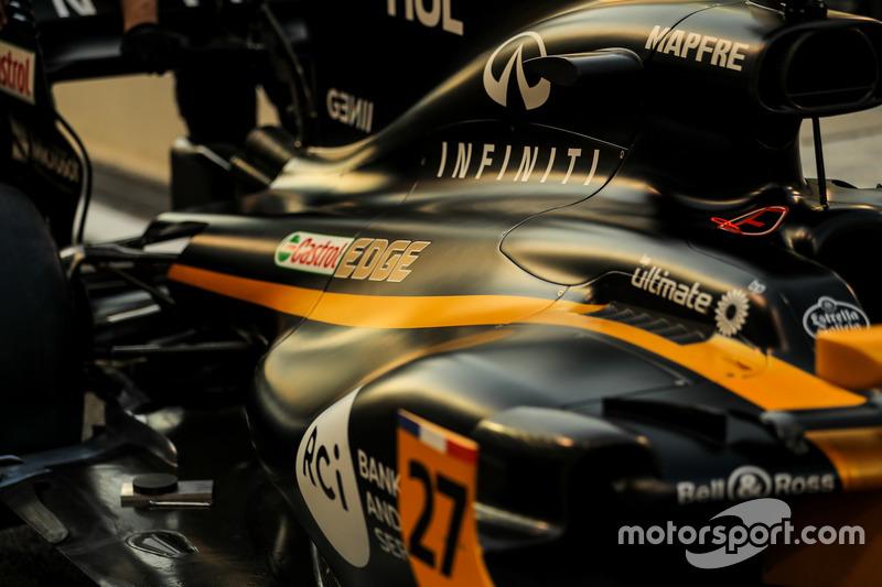 El coche de Nico Hulkenberg, Renault Sport F1 Team RS17