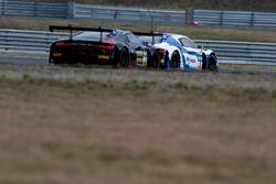 #3 Aust Motorsport Audi R8 LMS: Nikolaj Rogivue, Frédéric Vervisch, #6 Phoenix Racing Audi R8 LMS: N
