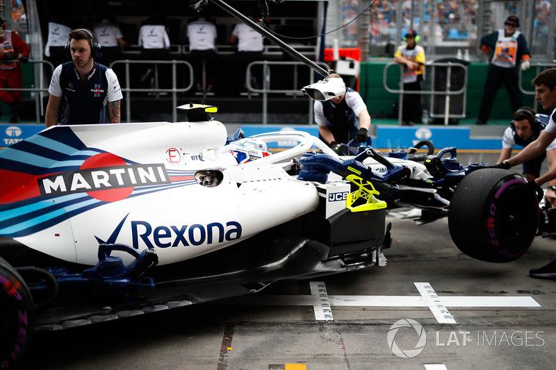 Sergey Sirotkin - GP de Australia 2018 (Abandono)