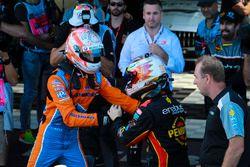 1. David Reynolds, Erebus Motorsport Holden, 2. Nick Percat, Brad Jones Racing Holden