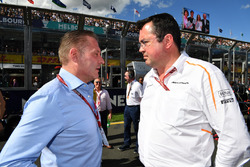 Jos Verstappen, Eric Boullier, McLaren Yarış Direktörü