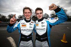 Pole GT4: #10 Equipe Verschuur McLaren 570S GT4: Finlay Hutchison, Daniel McKay