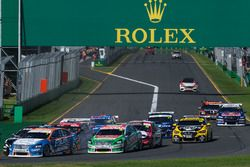 Supercars-Action in Melbourne