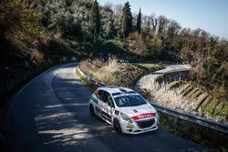 Tiziano Nerobutto, Mattia Menegazzo, Peugeot 208 R2B