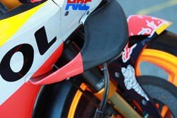Bike of Marc Marquez, Repsol Honda Team, wing