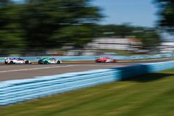 #7 Acura Team Penske Acura DPi, P: Helio Castroneves, Ricky Taylor, #29 Montaplast by Land Motorsport Audi R8 LMS GT3, GTD: Sheldon van der Linde, Christopher Mies