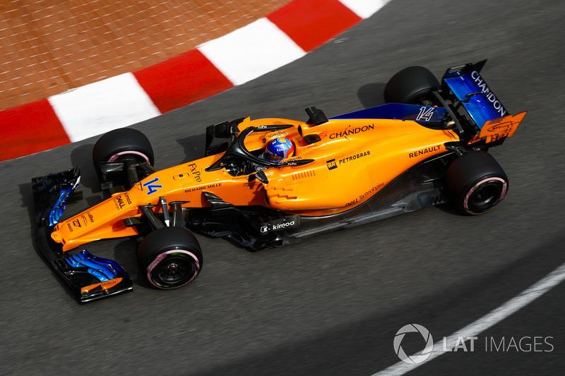 Día 1: libres del GP de Mónaco, en jueves
