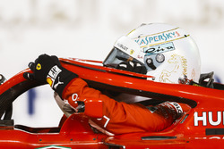 Sebastian Vettel, Ferrari SF71H, auteur de la pole position
