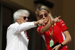 Bernie Ecclestone y Britta Roeske