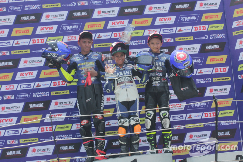 Podium All New R15 Idemitsu Junior Pro