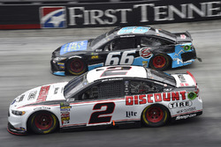 Brad Keselowski, Team Penske, Ford Fusion Discount Tire, Chad Finchum, Motorsports Business Management, Toyota Camry, Concrete North / Smithbuilt Homes