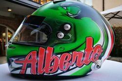 Il casco di Alberto Cerqui, Dinamic Motorsport