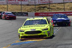 Paul Menard, Wood Brothers Racing, Ford Fusion Menards / Richmond, Alex Bowman, Hendrick Motorsports, Chevrolet Camaro Axalta