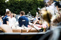 Oliver Turvey, CEFC TRSM Racing, Alex Brundle, CEFC TRSM Racing & Oliver Rowland, CEFC TSRM Racing