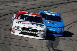 Kaz Grala, Fury Race Cars LLC, Ford Mustang NETTTS and Matt Tifft, Richard Childress Racing, Chevrolet Camaro Wastebits