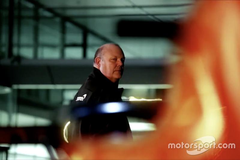 Teaser, McLaren MCL33