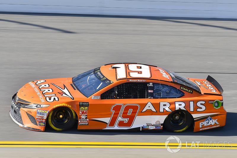 17. Daniel Suarez, Joe Gibbs Racing, Toyota