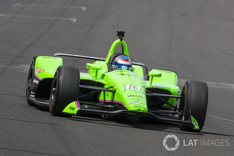 7°: Danica Patrick, Ed Carpenter Racing Chevrolet