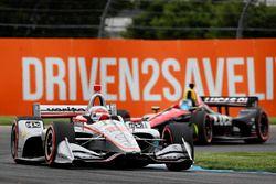 Will Power, Team Penske Chevrolet, Robert Wickens, Schmidt Peterson Motorsports Honda