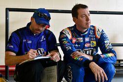 Kyle Busch, Joe Gibbs Racing, Toyota Camry M&M's Caramel Adam Stevens